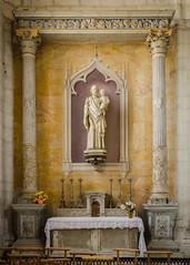 Autel Saint-Joseph à l'enfant - Saint-Florentin