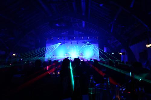 #lasershow