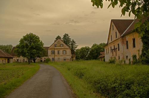 verlaten Boerenhof omgeving Unter Donnersdorf