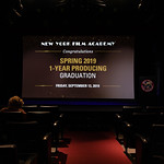 NYFA NYC - 09/13/2019 - Spring 1 Year- Producing Graduation