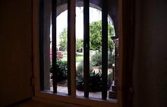 """""""Framed"""" at Mission San Juan Capistrano"""