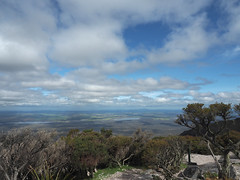South Stirlings Agricultural Area from Bluff Knoll, Stirling Ranges, Western Australia