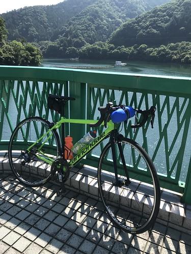 Bike ride @Okutama-Lake, Tokyo