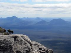 Western Stirlings Peaks from Summit - Bluff Knoll, Stirling Ranges, Western Australia