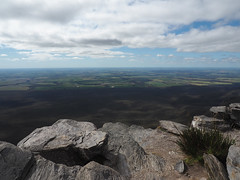 North Stirlings Agricultural Area from Bluff Knoll, Stirling Ranges, Western Australia
