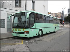 Setra 315 UL – Just / TIL (Transports Interurbains de la Loire) - Photo of La Talaudière