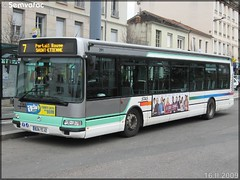 Irisbus Agora S – TPAS (Transports Publics de l'Agglomération Stéphanoise) (Veolia Transport) / STAS (Société de Transports de l'Agglomération Stéphanoise) n°291