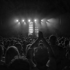 In concert.