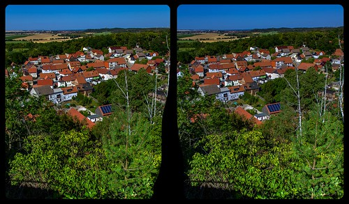 Langenstein outlook 3-D / CrossView / Stereoscopy