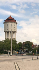 Old Water Tower in Emden, Germany