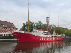 Museums-Feuerschiff Amrumbank in Emden, Deutschland