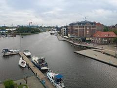 Old Harbour in Emden, Germany
