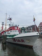 Museum rescue ship Georg Breusing in Emder Ratsdelft, Germany