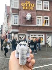Plüsch Ottifant aus dem Ottohaus Museum in Emden, Deutschland