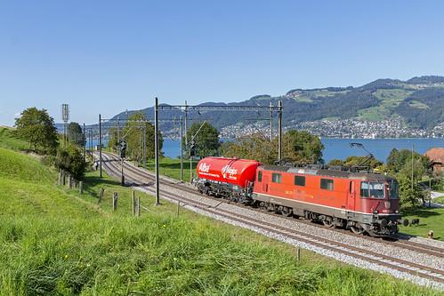 Einigen, 17 september 2019   SBB Cargo 430 352