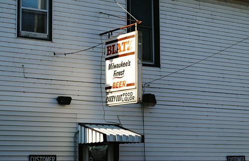 Blatz in Argyle, Wisconsin