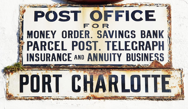 190919 - Islay - Port Charlotte - Post Office 2