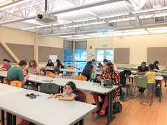 Friday Fun Virtual Reality and Washi Tape Picture Frames at Tully Sept 27 2019 (7)