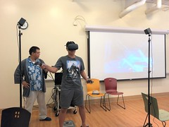 Friday Fun Virtual Reality and Washi Tape Picture Frames at Tully Sept 27 2019 (5)