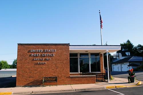 Argyle, Wisconsin Post Office