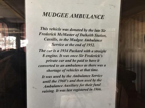 1935 Packard Eight ambulance - Mudgee District (12)