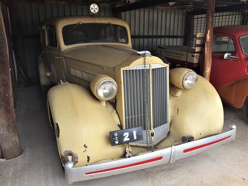 1935 Packard Eight ambulance - Mudgee District (2)