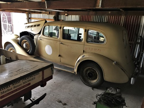 1935 Packard Eight ambulance - Mudgee District (3)