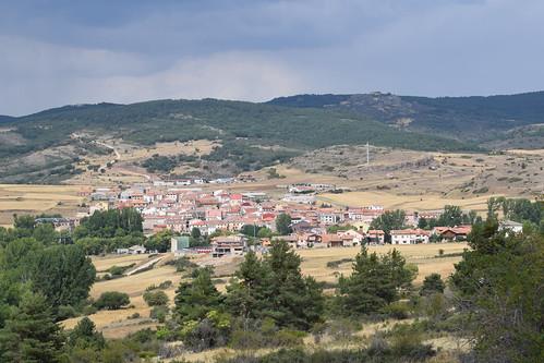 Vista del caserío (Orea)