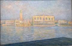 Claude Monet. The Palazzo Ducale, Seen from San Giorgio Maggiore (Le Palais Ducal vu de Saint-Georges Majeur), 1908