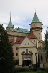 2019, Burgen- u Schlösserfahrt Slowakei, 3.Tag, Burg Löwenstein (Vrsatec), Schloß Bojnice