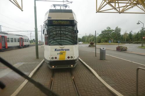 Tram at De Panne