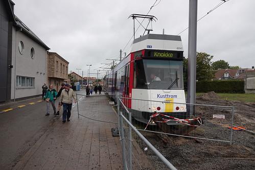 Tram in Knokke