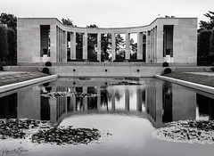 Normandy American Cemetery and Memorial - Photo of Bricqueville