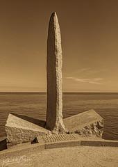 World War II Pointe du Hoc Ranger Monument