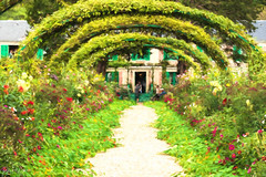 Claude Monet House and Gardens - Photo of Amenucourt
