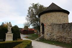 2019, Burgen- u Schlösserfahrt Slowakei, 11.Tag, Burg Cerveny Kamen, Schloss Budmericke, Schloss Dolna Krupa, Trnava