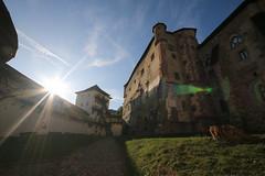 2019, Burgen- u Schlösserfahrt Slowakei, 9.Tag, Burg Modry Kamen, Kloster Bzovik, Banska Stiavnica - Neue u Alte Burg, Kalvarienberg