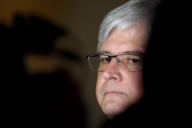 Rodrigo Janot, ex-procurador Geral da República afirmou em livro de memórias que pensou em assassinar o ministro do STF, Gilmar Mendes - Créditos: EVARISTO SA / AFP