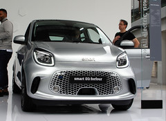 Smart EQ Forfour facelift