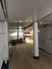 Deserted deck.