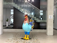 Giant Rooster Intown Apartments Lobby Little Havana