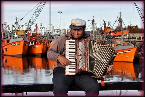 Música Marina. Puerto de Mar del Plata. BsAs. Argentina