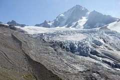 Glacier du Tour @ Hike to Refuge Albert 1er @ Domaine de Balme - Vallorcine @ Chamonix