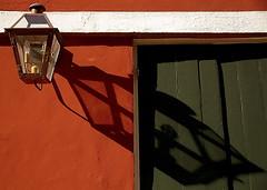 "New Orleans - French Quarter ""Lantern Shadow"""