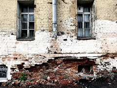windows. decay