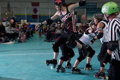 Maddie Longlegs jumps high