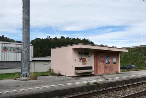 Weite-Wartau - Abandoned Station SBB