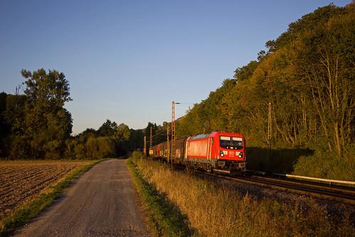 DB 187 178 + Güterzug/goederentrein/freight train   - Friedland