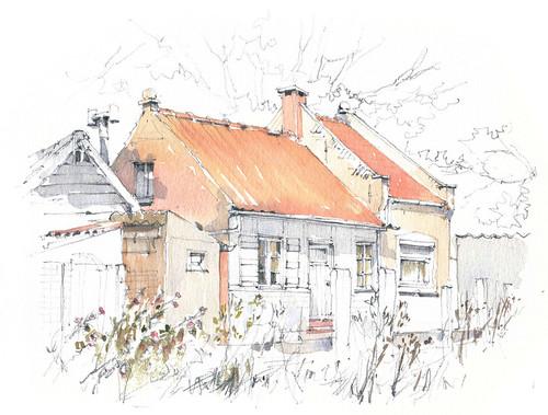 België, Gistel, Warandestraat