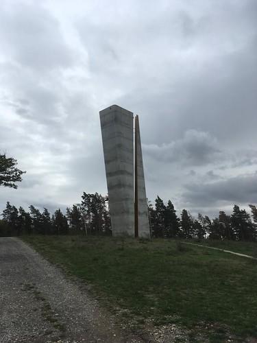 2007 Nebra Aussichtsturm 30mH von Barbara Holzer/Tristan Kobler 1,5km nördlich Arche Nebra An der Steinklöbe 16 in 06642